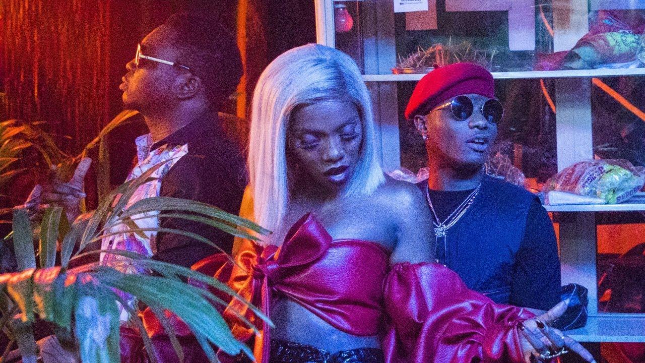 Tiwa Savage et Wizkid passent une soirée mouvementée dans le clip dénommé Malo