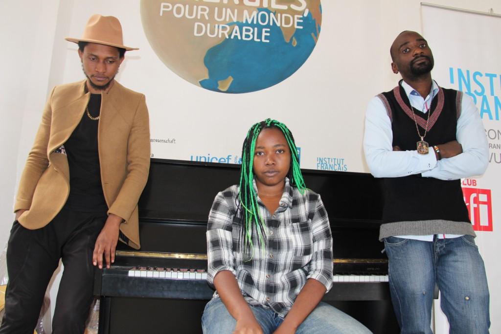 Sud-Kivu : Aldor, Kinjaah, Cor Akim et Thomas Lusango disent « non  à l'esclavage en Lybie » à travers un méga concert
