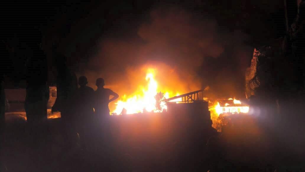 Retour sur l'incendie apocalyptique qui a ravagé Mishka Records, le célèbre studio de Goma