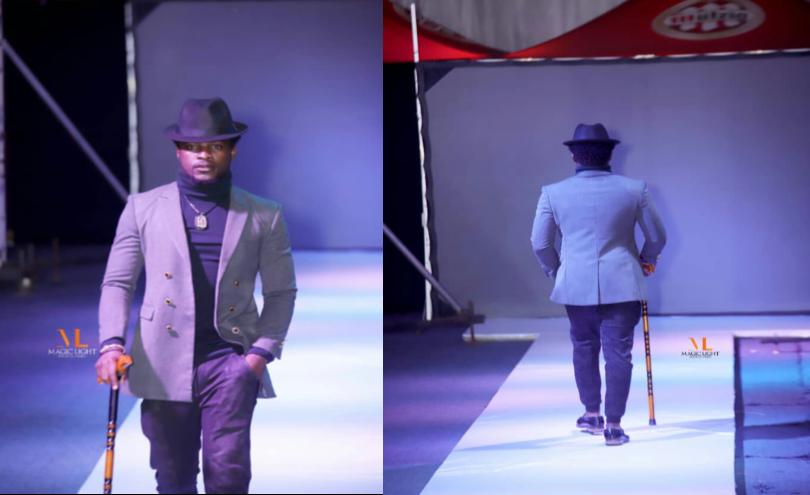 Après Liputa Fashion, Kigali Fashion Week, le mannequin Yuston Nessy ne cesse de se régaler