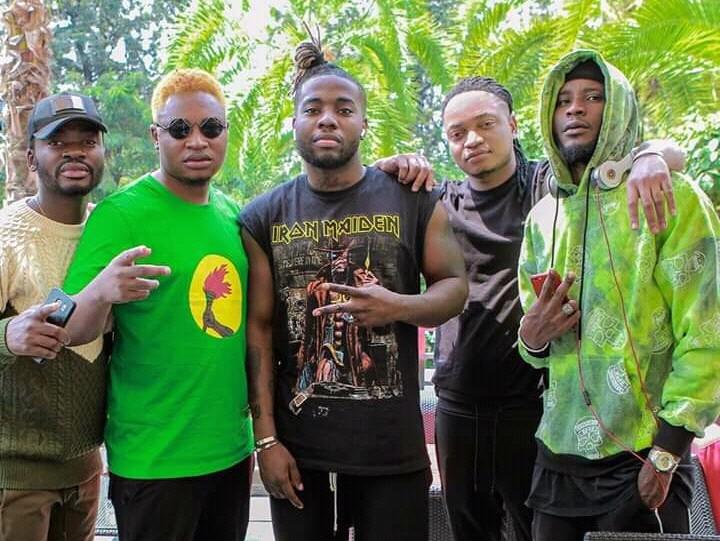 Le groupe Street League Music a mis le feu avant hier au concert de Ya levis à Kigali