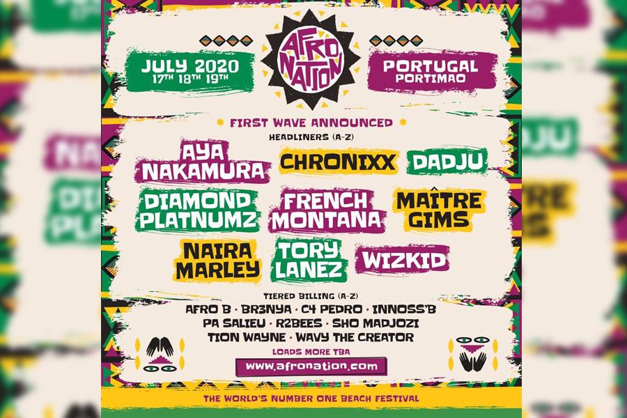 Afronation Portugal 2020: Innoss'B, Dadju et Gim's représenteront la RDC à ce grand festival.