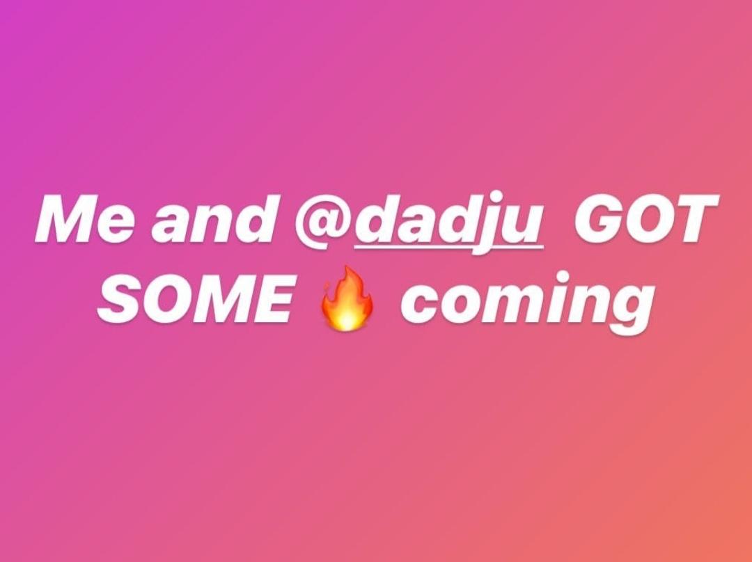Chris Brown annonce un featuring avec Dadju.