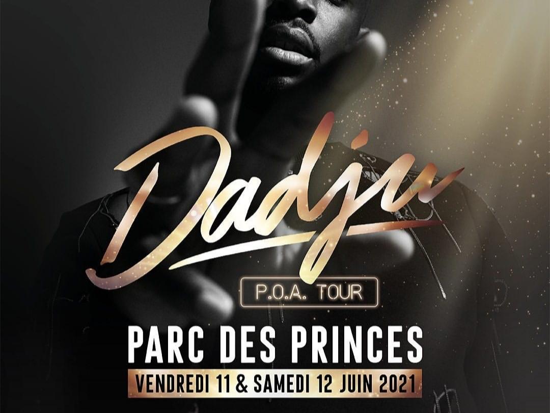 Dadju annonce 2 Parcs de Princes pour récompenser ses fans.