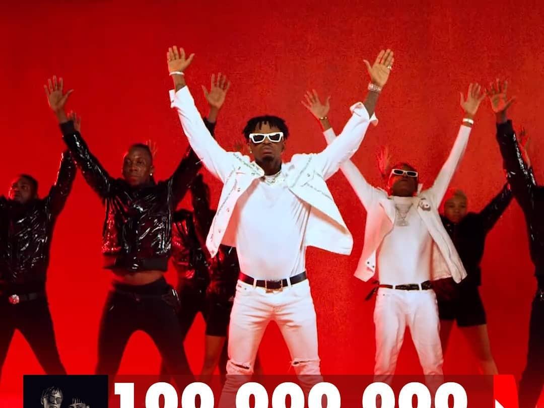 Le clip Yope remix de innoss b et diamond platnumz atteint 100 000 000 vues sur Youtube ?