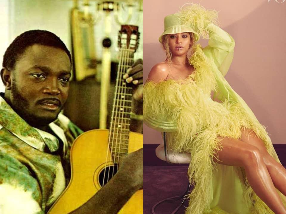 Après Fally Ipupa, la star américaine Beyoncé fait la fête avec l' une des chansons de Franco lwambo