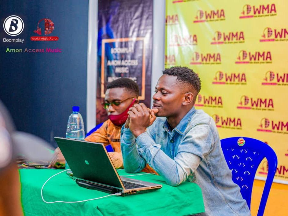 World Music Actus et Amon Acces promo en collaboration avec Boomplay , a fait appel aux artistes musiciens de la ville de Goma