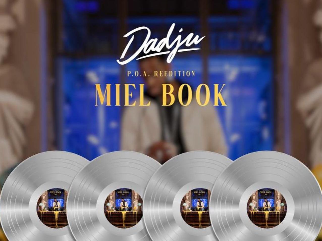 Dadju est 4 fois disque de platine avec son album POA