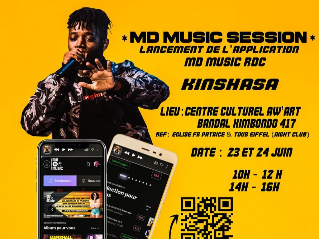 MD Music Session - Kinshasa