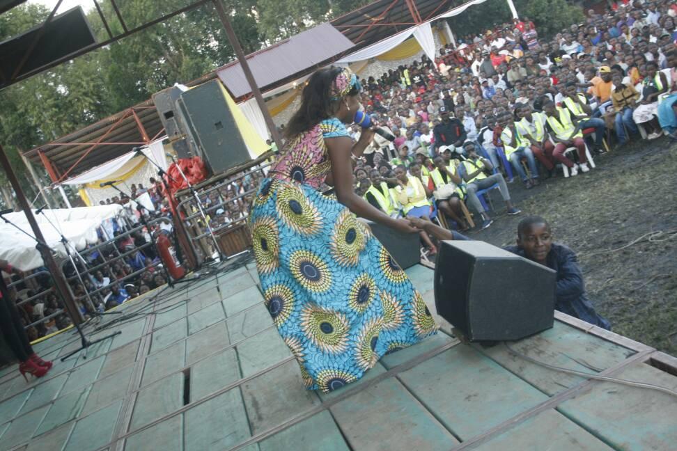 concert dans la Journée Diocésaine des Jeunes Voldie Mapenzi